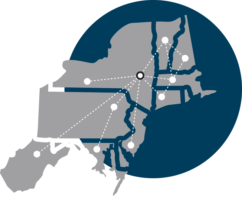 Northeast states